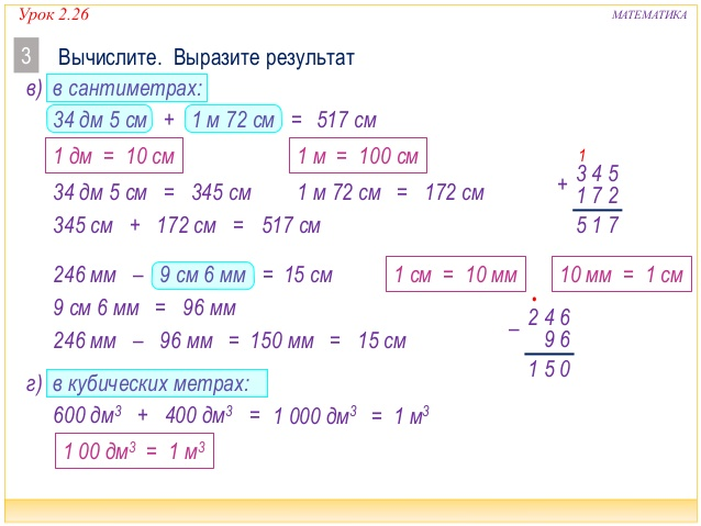 Презентация кубический дециметр и литр 4 класс