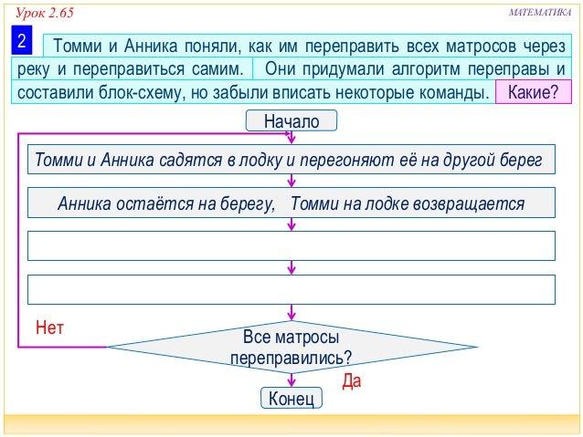 Урок 2.65 МАТЕМАТИКА Томми и
