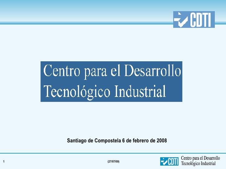 Programas Financiacion España CDTIi 110208