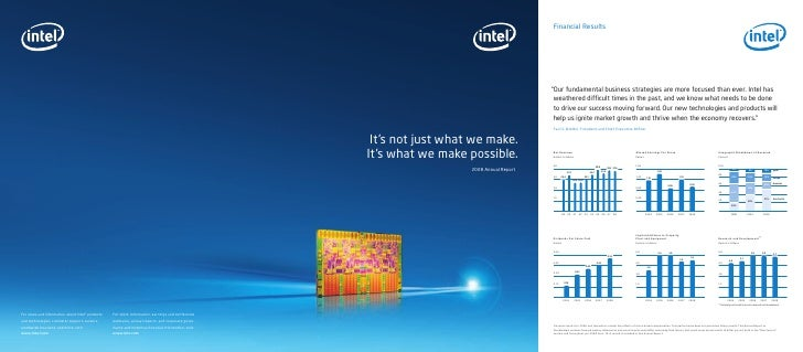 Intel 2008 Annual Report