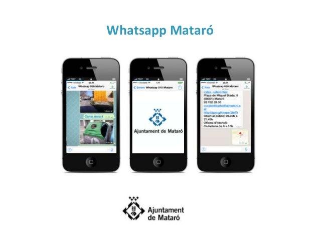 Whatsapp Mataró