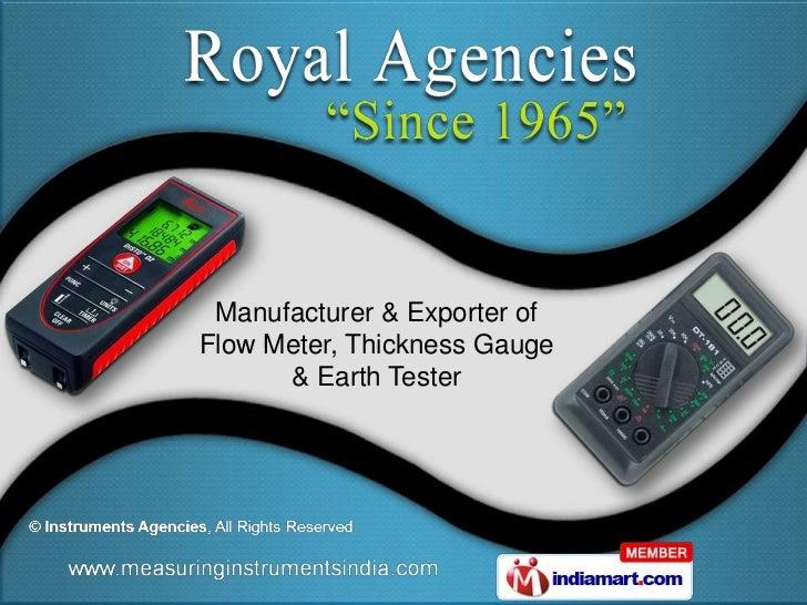 Royal Agencies Gujarat  INDIA