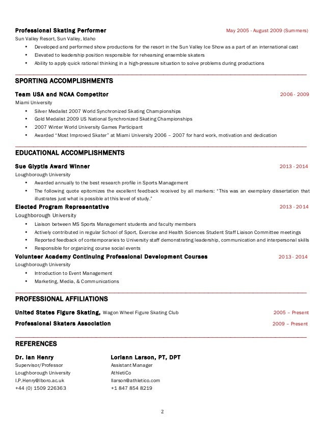 resumes in usa