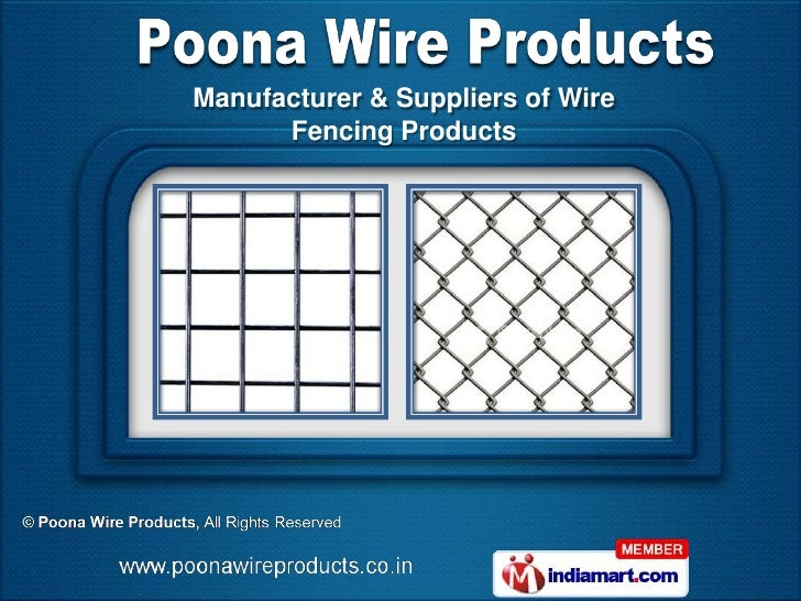 Manufacturer & Suppliers of Wire      Fencing Products
