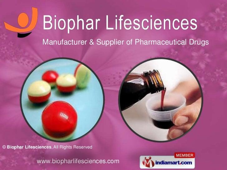 Biophar Lifesciences Chandigarh India