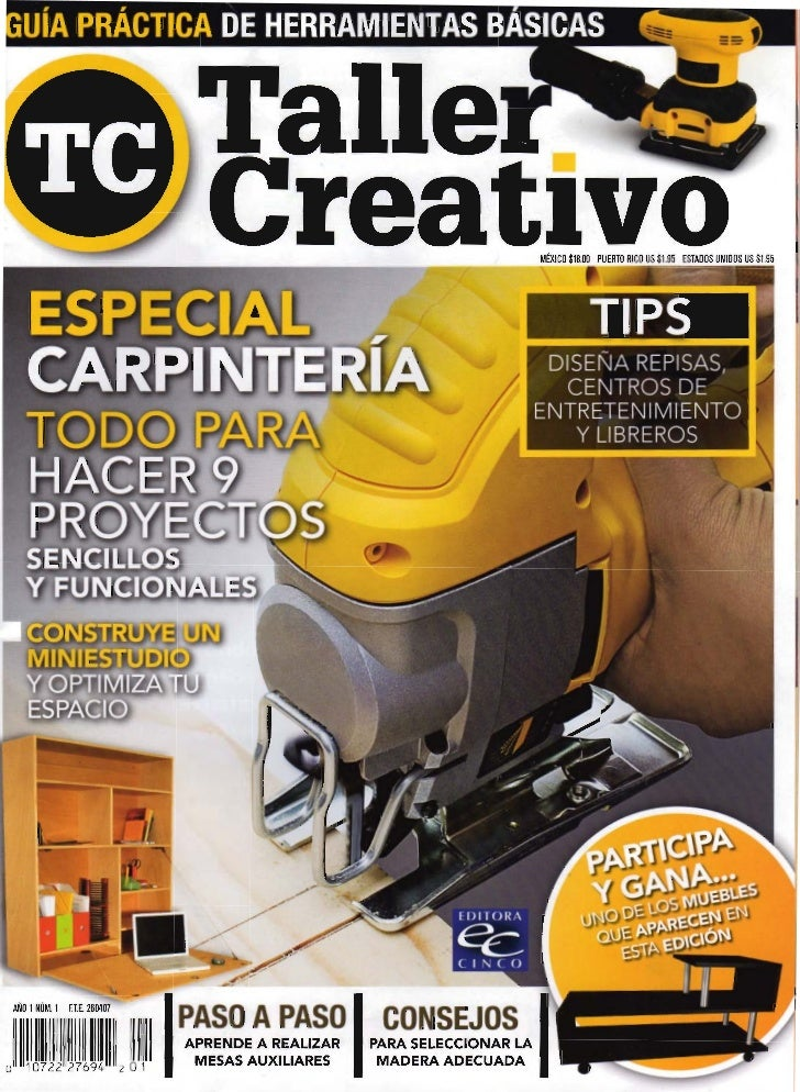 21563351 revista carpinteria for Manual de carpinteria muebles pdf