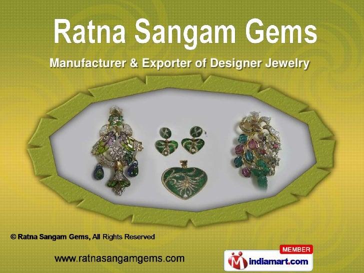 Manufacturer & Exporter of Designer Jewelry