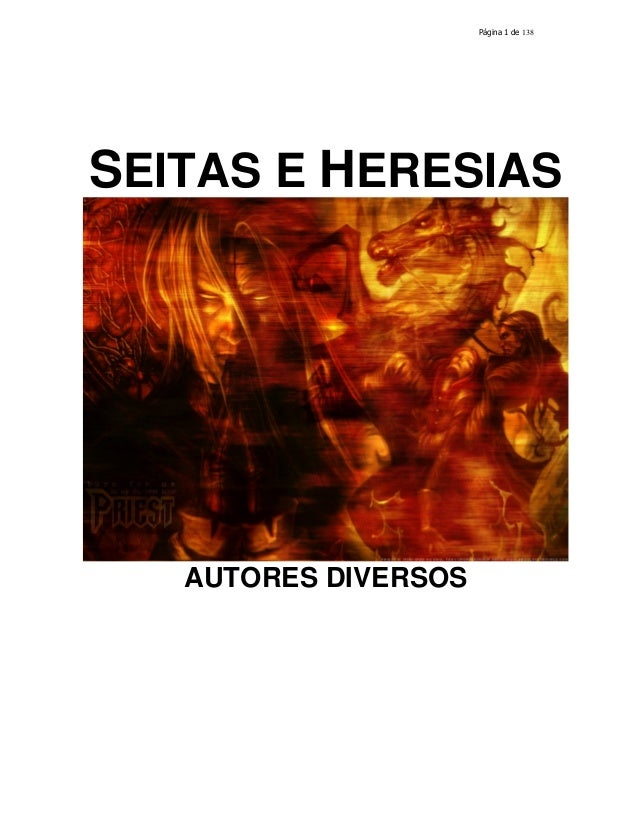 138  SEITAS E HERESIAS  AUTORES DIVERSOS
