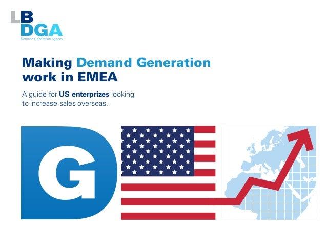 Making Demand Generation Work in EMEA