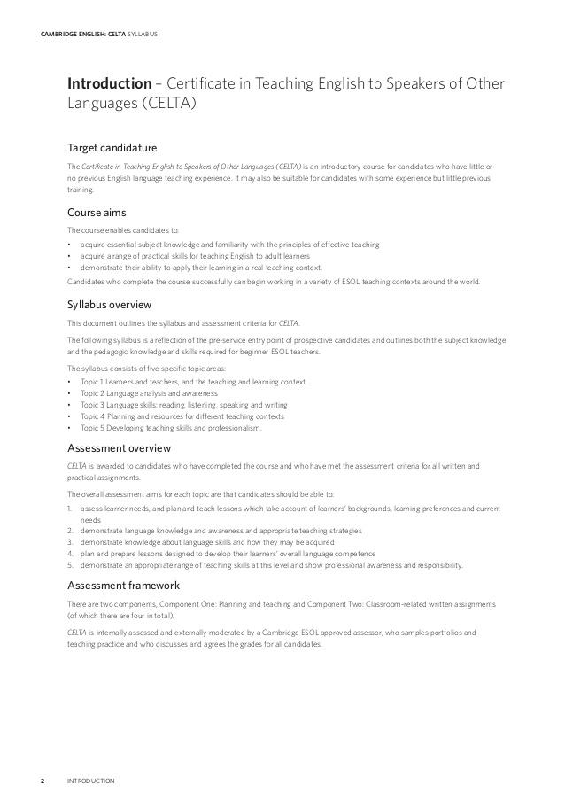 CELTA Qualification | TEFL Certification - Teaching House