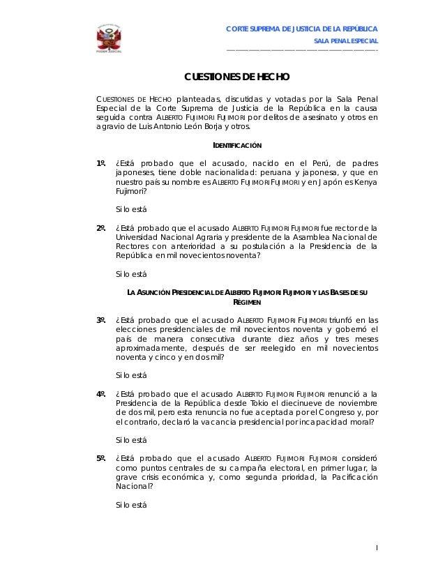 CORTE SUPREMA DE JUSTICIA DE LA REPÚBLICA                                                                             SALA...