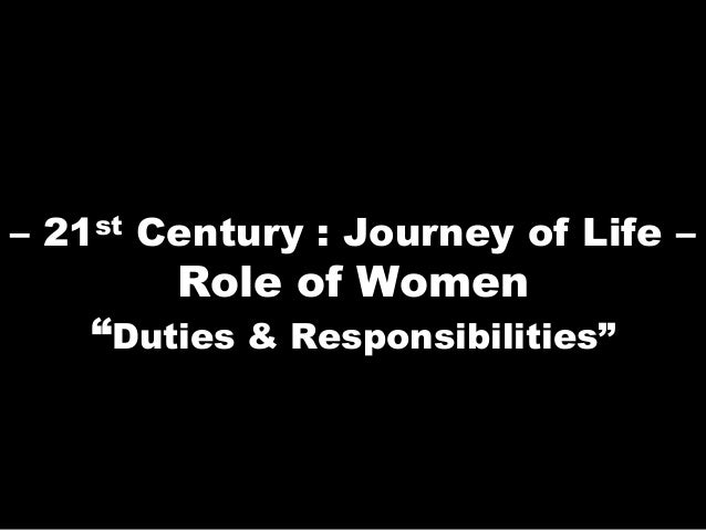 how the role of women transformed in the 21st century Essays - largest database of quality sample essays and research papers on role of women in the 21st century.