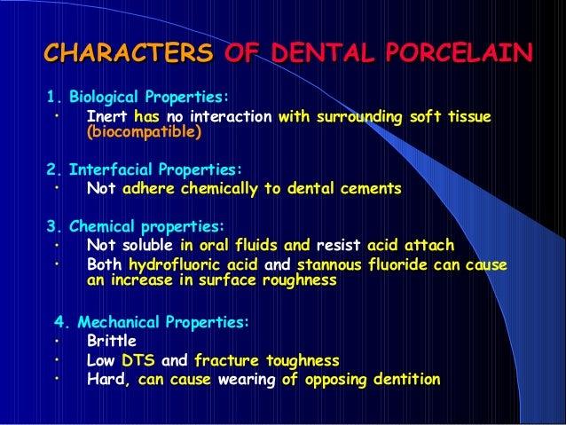DENTAL CERAMICS Dental Porcelain All-CERAMIC RESTORATIONS dental mate