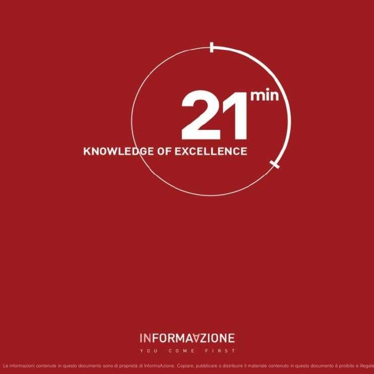 21min - i saperi dell'eccellenza