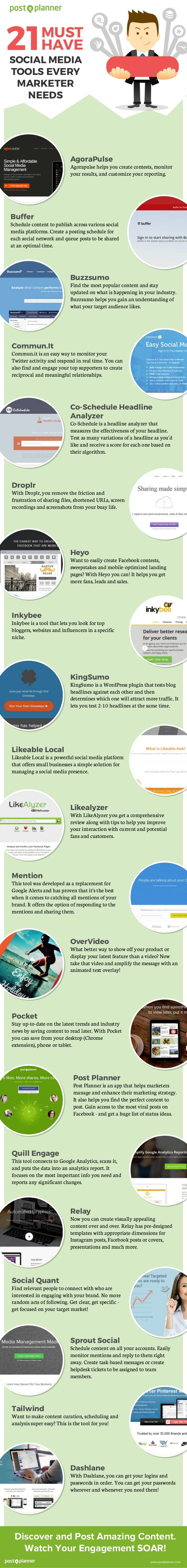 21 Tricks With Google Musthave Social Media Tools Every Marketer Needs