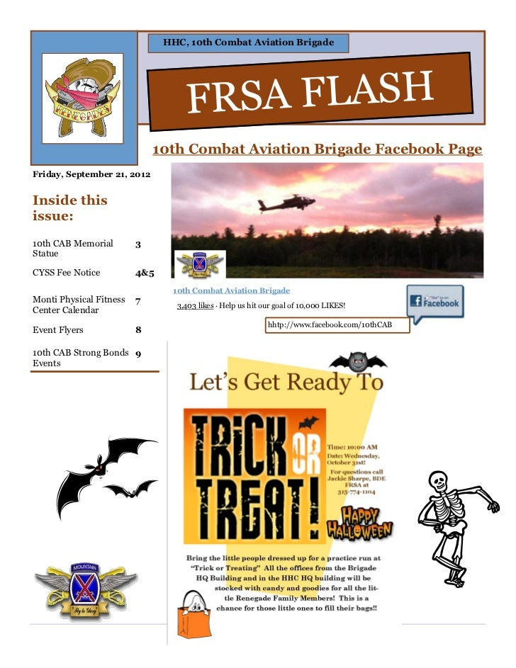 FRSA FLASH 21 Sept 2012