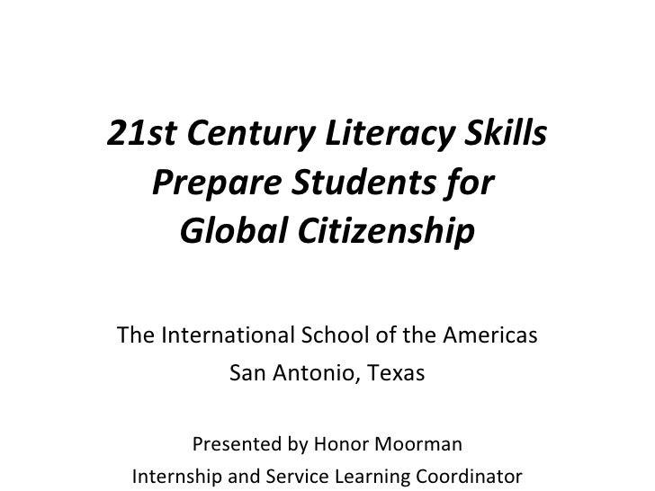 21st Cent Literacy THSP Webinar