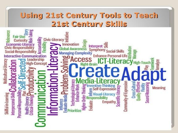 Using 21st Century Tools to