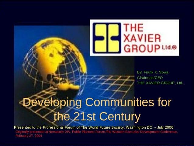 21st Century Communities