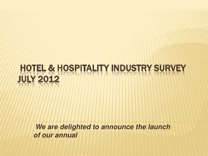 21st Century Hospitality Remuneration Survey