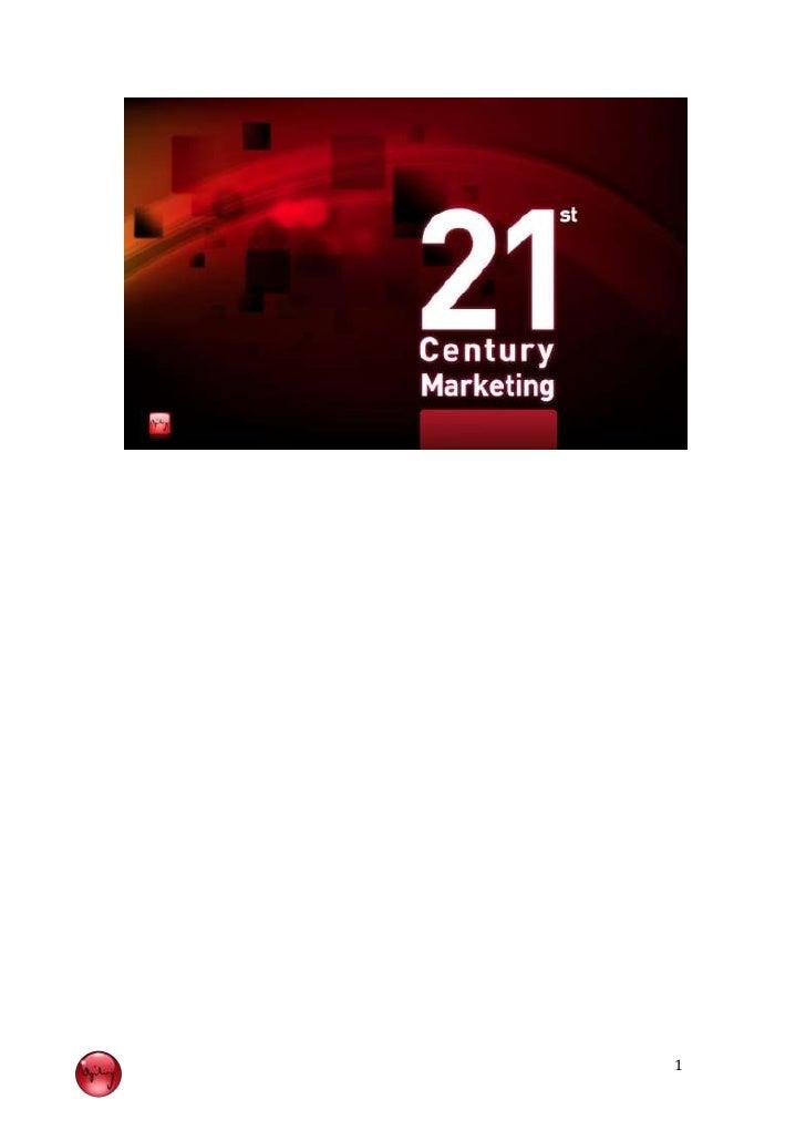 21st century marketing general