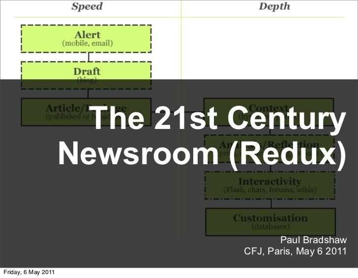 21st century newsroom (redux)