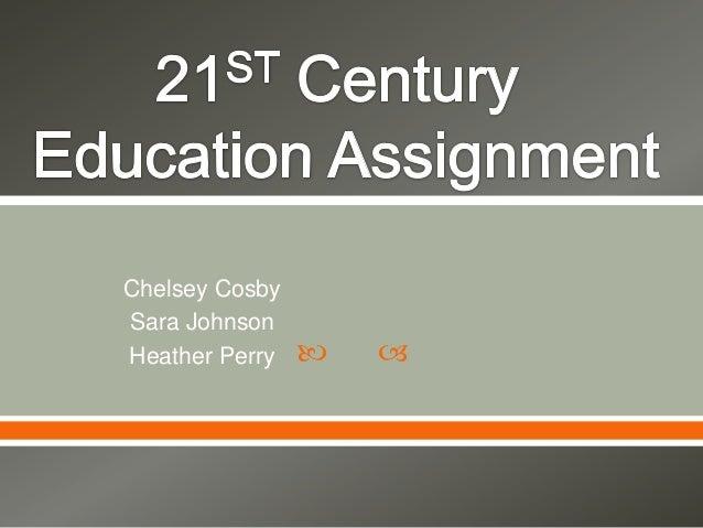  Chelsey CosbySara JohnsonHeather Perry