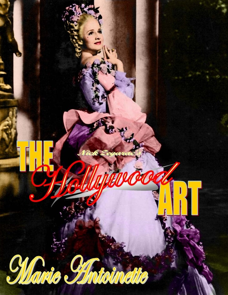 DOOMEDMONARCHYThe Trials and Tribulations of        MARIE ANTOINETTE (1938) It was the costliest film ever attempted by a ...