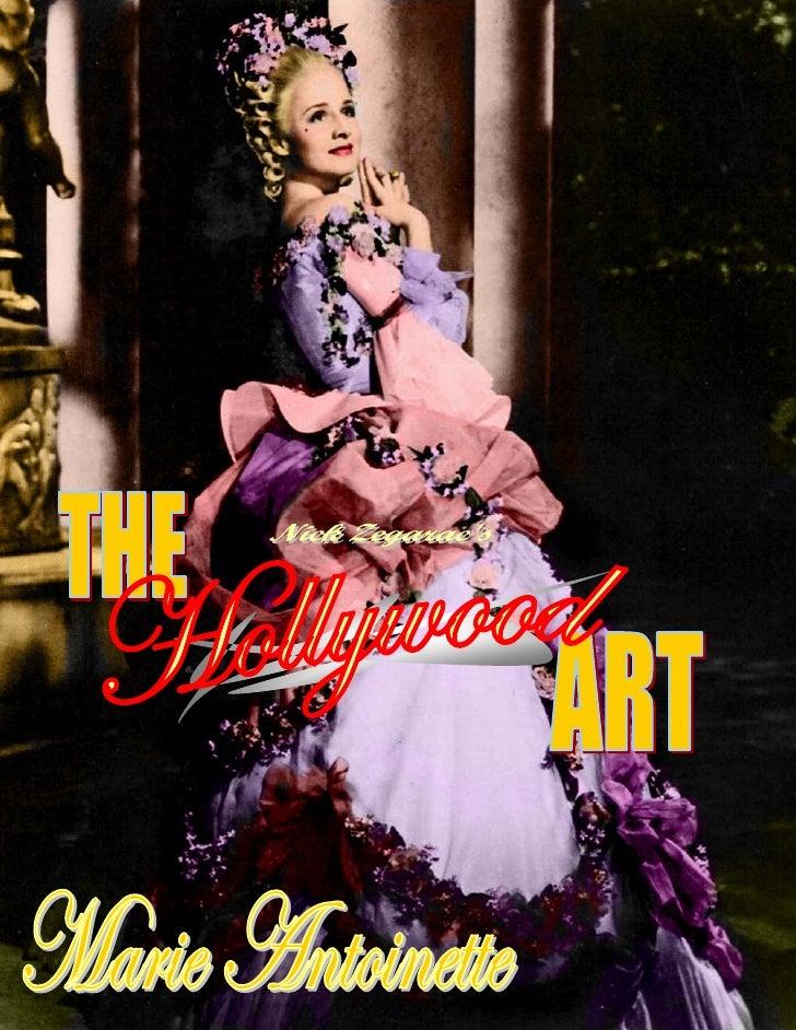 21) The Hollywood Art   Marie Antoinette (1938)