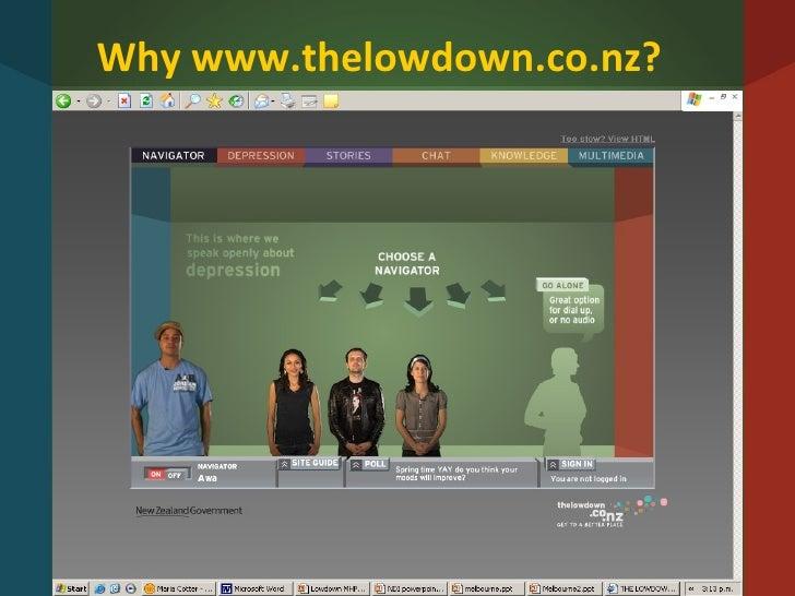 Why www.thelowdown.co.nz?