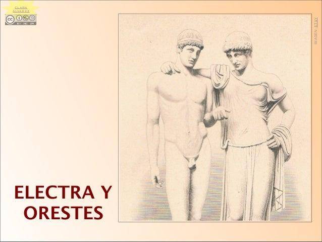 ELECTRA Y ORESTES IMAGEN:ETSY CLARA ÁLVAREZ