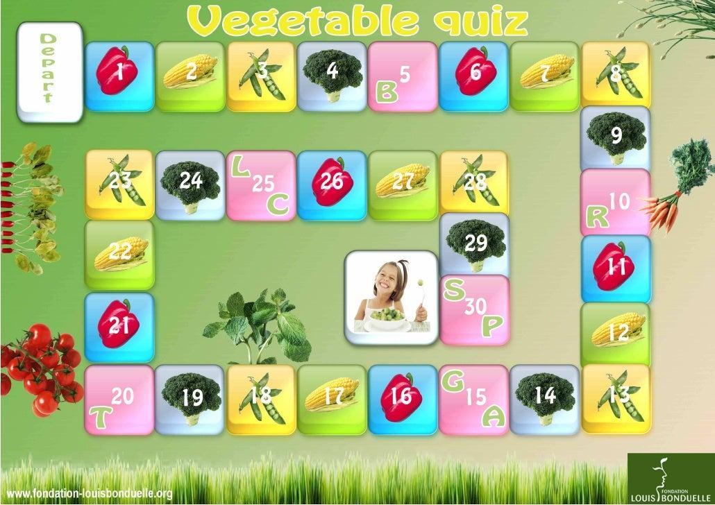 The vegetable quiz (8y and more) - Louis Bonduelle Foundation