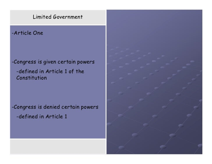 22 powers of congress