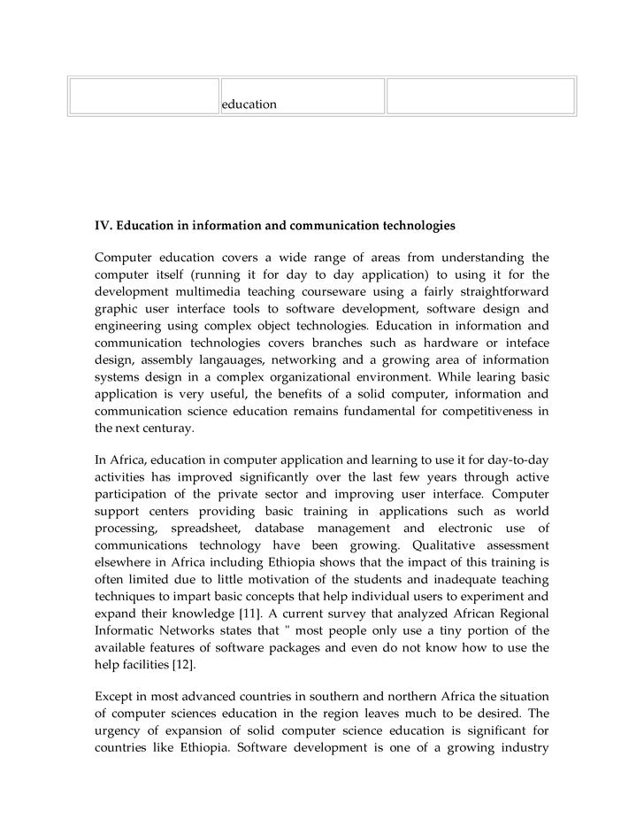 "educating information technology staff essay Educating staff: implementing change ""educating the staff: are you looking for a similar paper or any other quality academic essay then look no further."