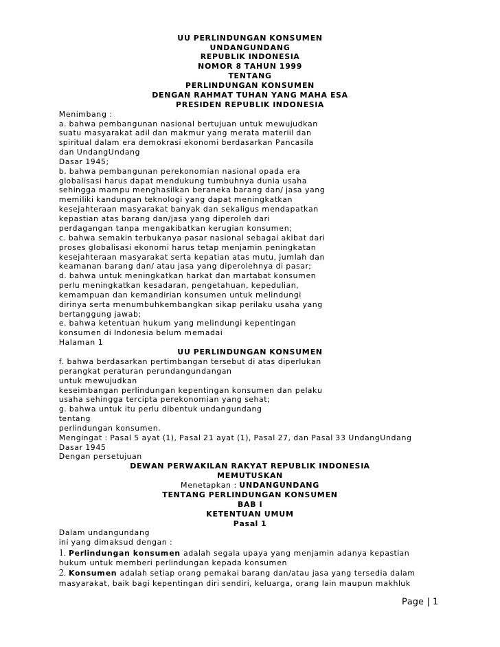 22002405 UU Perlindungan Konsumen