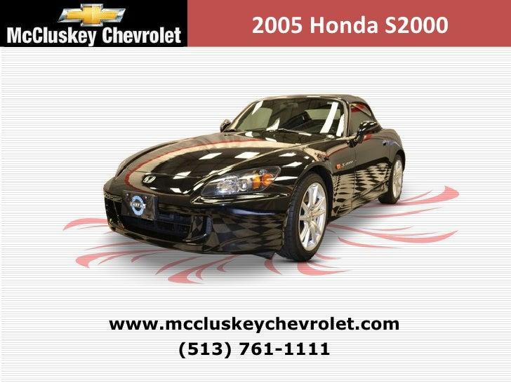 Used 2005 Honda S2000 Convertible at Cincinnati and Hamilton, Ohio