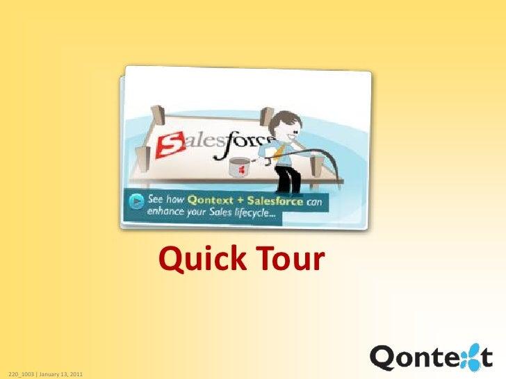 Qontext for SalesForce