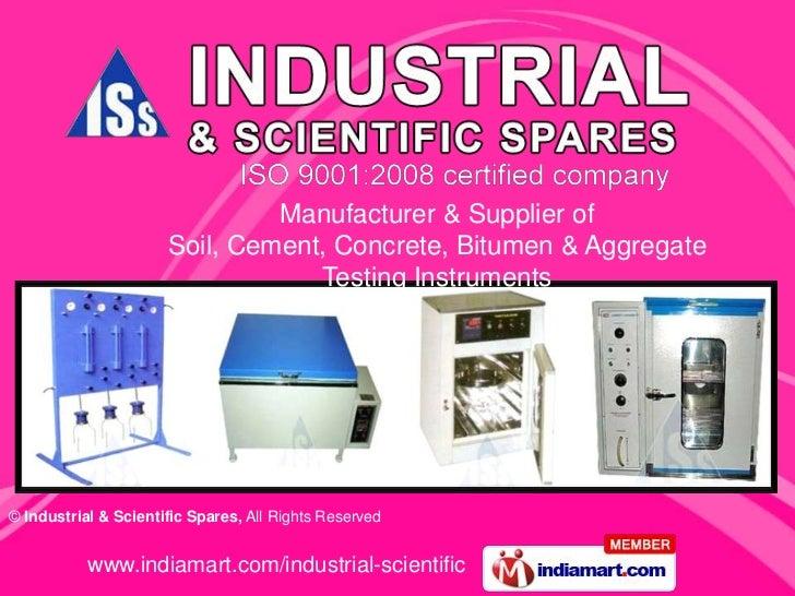 Industrial And  Scientific Spares Delhi India