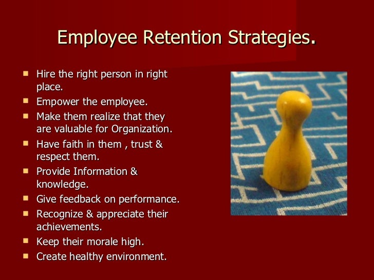 employee retention proposal View of its employees and what role retention plays in their job performance   thus, we propose that understanding the reasons why people stay, on average,.