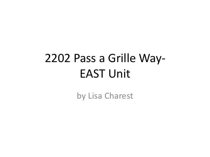 pass a grille Beach House- EAST-