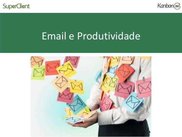 Email e Produtividade