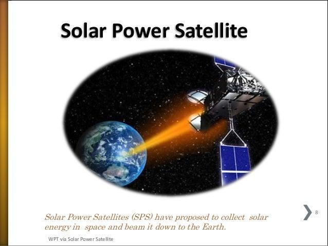 Solar Satellite Power System Ppt Solar Power Satellite Solar