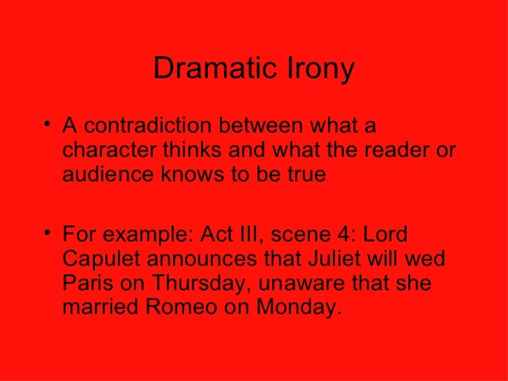 dramatic irony 3 essay Dramatic irony occurs throughout much ado about nothing enabling the  audience to know facts of  essay by threezee, high school, 11th grade, march  2006.