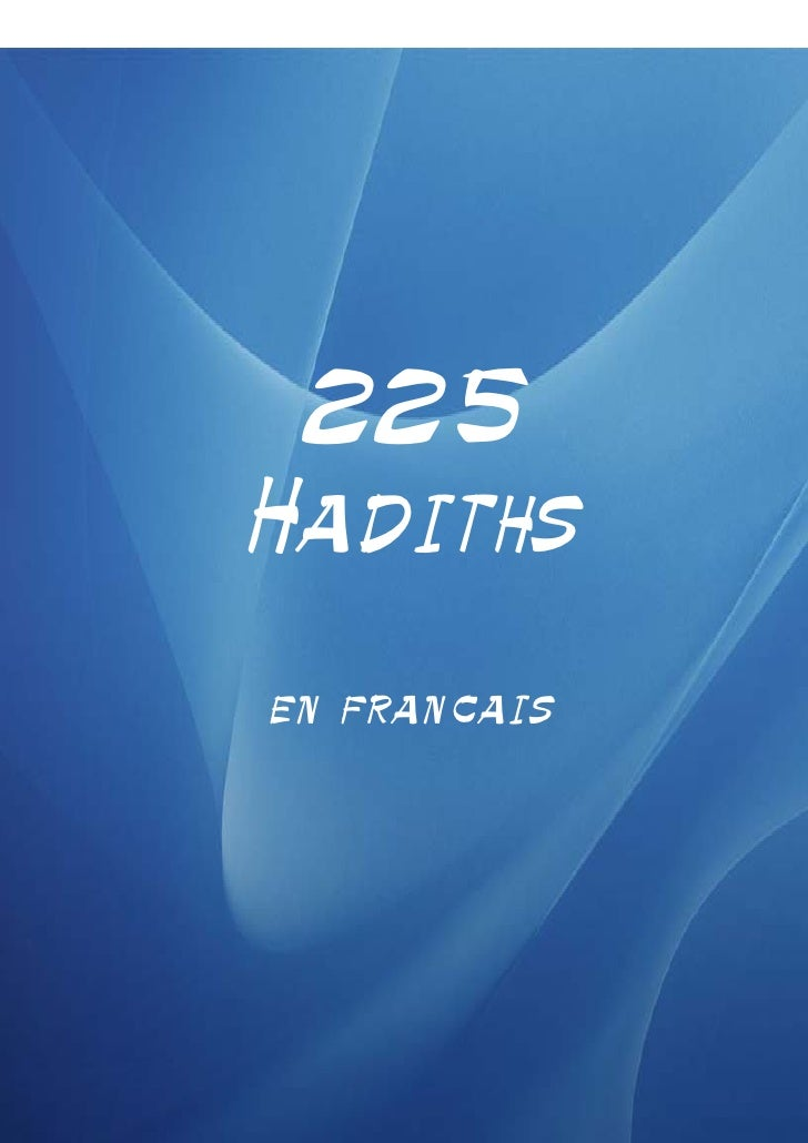225 hadiths-traduits-en-francais