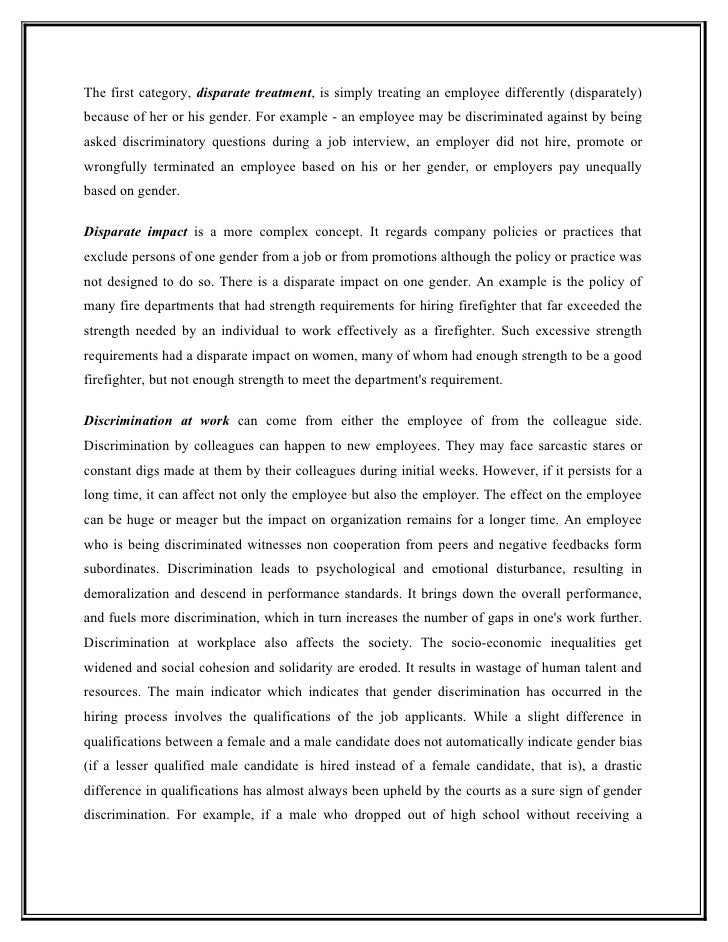 Stop Discrimination Essay Topic - image 5