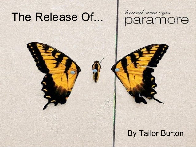 The Release Of... By Tailor Burton
