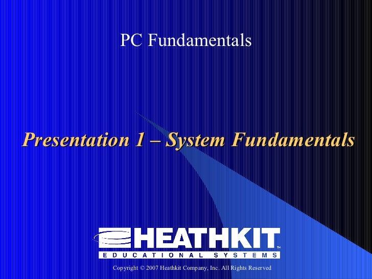 Health Kit Computer Fundamental