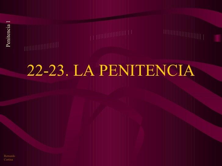 22a23 Penitencia
