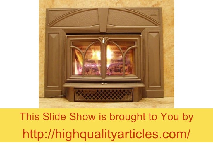 All About Fireplace Inserts