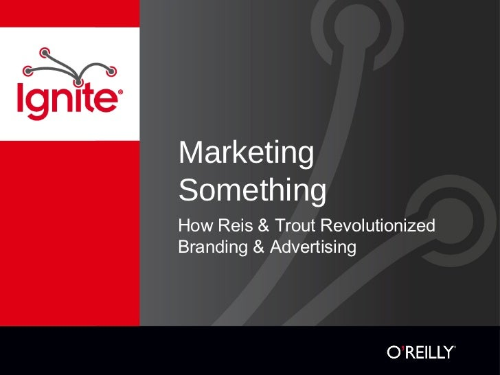 Immutable laws of marketing